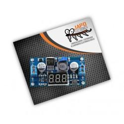 Regulador De Voltaje Step Down Lm2596 Con Display