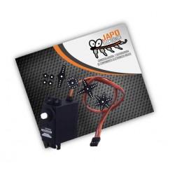 Servomotor Digital DM-S0306D 3Kg/Cm 360 Grados