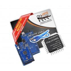 Arduino Mega  Genérico Sin Logotipo CH340G Con Su Cable USB