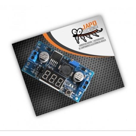 Regulador De Voltaje Step Up Booster Lm2596 Con Display