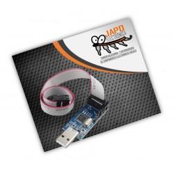 Programador AVR Atmel USBASP USBISP + Cable