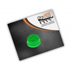 Botón Redondo Verde 6x6x7.3MM Para Push Button Cabeza Cuadrada