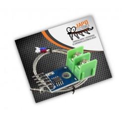 Termopar Tipo K Con Su Módulo Max6675 1024 Grados Centigrados