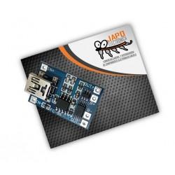 Cargador De Baterías Lipo Tp4056 Con Protección De Carga 1A Mini USB