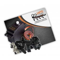 SERVOMOTOR DS04-NFC 360 GRADOS ROTACIÓN CONTINUA 5.5KG/CM INLCUYE ACCESORIOS