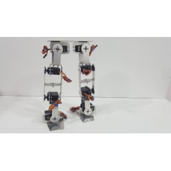 Estructura Robotica De Aluminio Para Bípedo