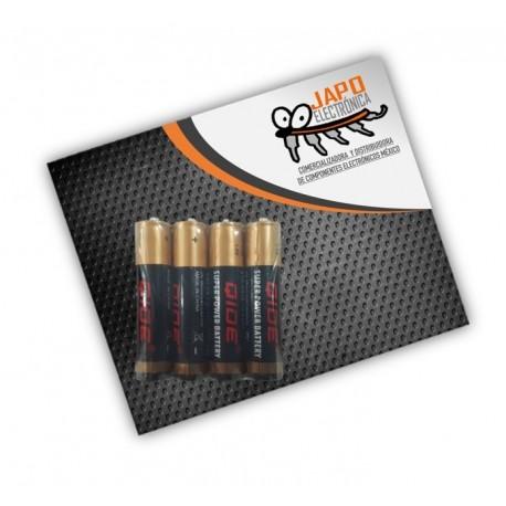 Pila AAA Alcalina Zing-Carbon (Paquete De 4 Pzs)