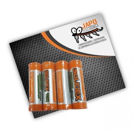 Pila AA Alcalina Zing-Carbon (Paquete De 4 Pzs)