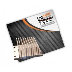 Disipador De Calor Mediano 100% Aluminio 9 Aletas 60x45x60 MM