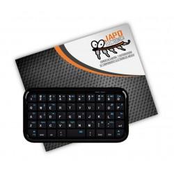 Mini Teclado Bluetooth Inalámbrico Recargable Compatible Con Smartphone Y Smart Tv