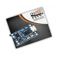 Cargador De Baterías Lipo Tp4056 Con Protección De Carga 1A Micro USB