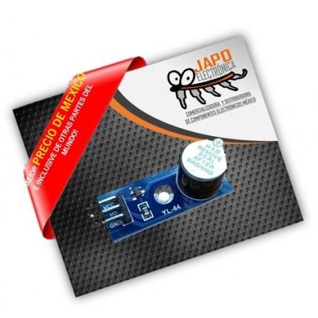 Modulo buzzer activo de bajo nivel de corriente 5V