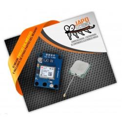 Módulo GPS Ublox NEO-6M con EEPROM MWC/AeroQuad y con Antena Flight Control GY-NEO6MV2