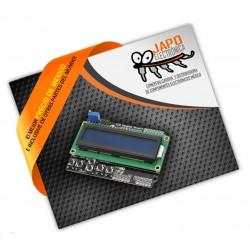 Shield LCD 1602 con keypad Fondo Azul