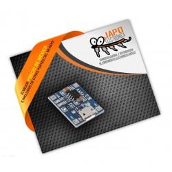 Cargador De Baterías Litio 18650 Micro USB Con Protección De Carga 1A 3.7V 3.6V 4.2V