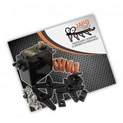 SERVOMOTOR MG995 15KG/CM ENGRANES DE METAL INCLUYE ACCESORIOS