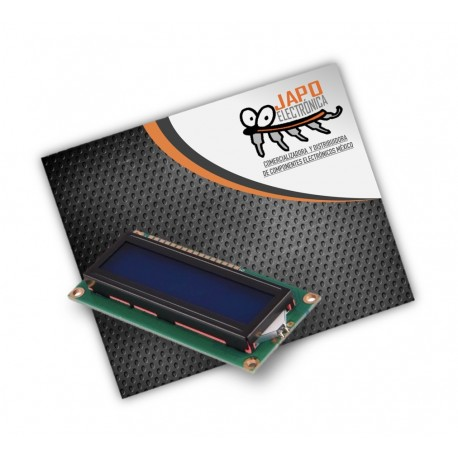 MÓDULO LCD 4X20 LUZ DE FONDO AZUL