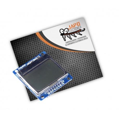PANTALLA LCD NOKIA 5110 84X48 LUZ DE FONDO AZUL