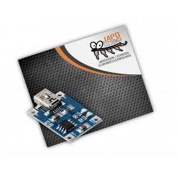 MINI CARGADOR USB DE BATERÍAS LIPO TP4056 1A