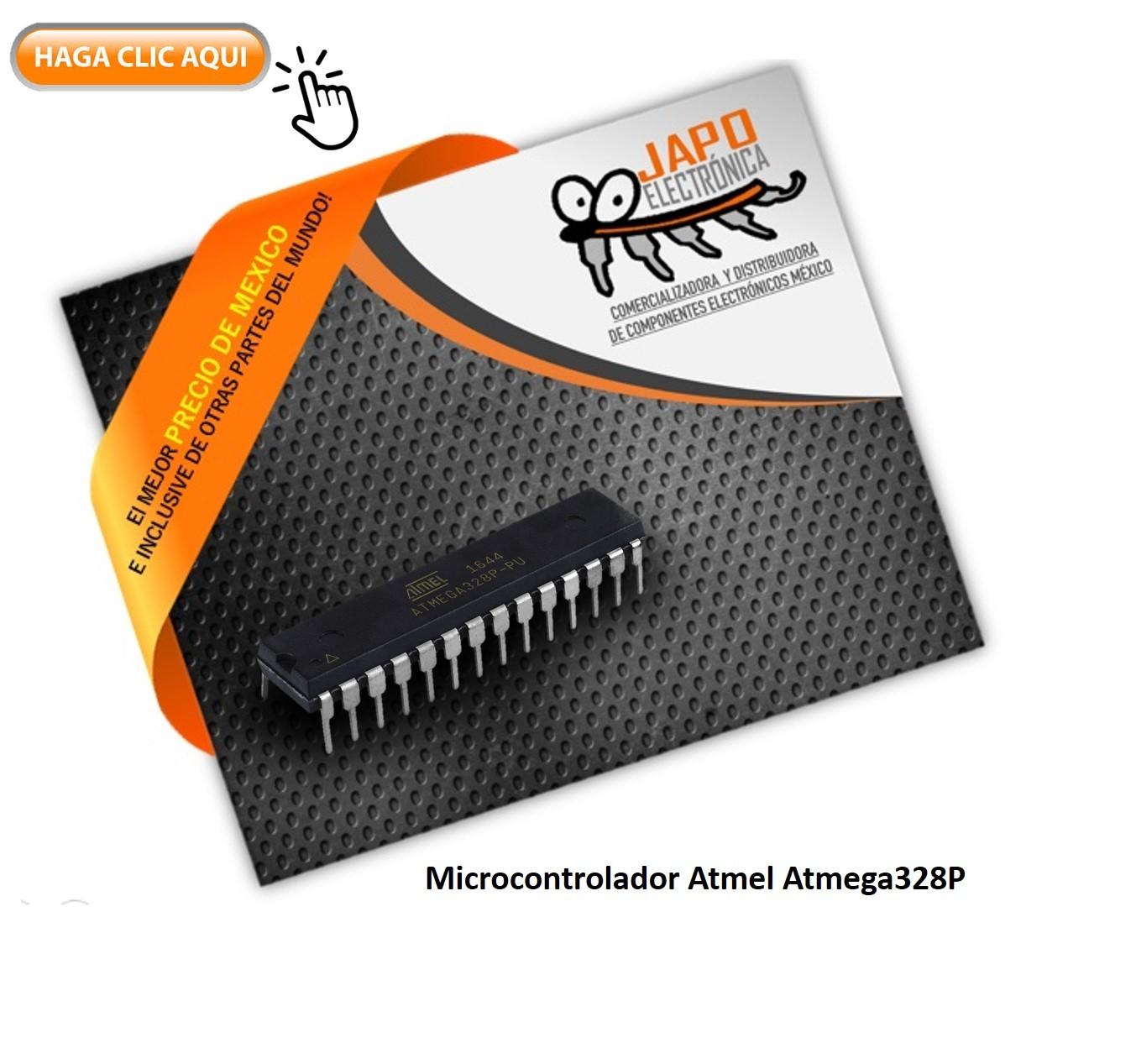Microcontrolador Atmel Atmega328P