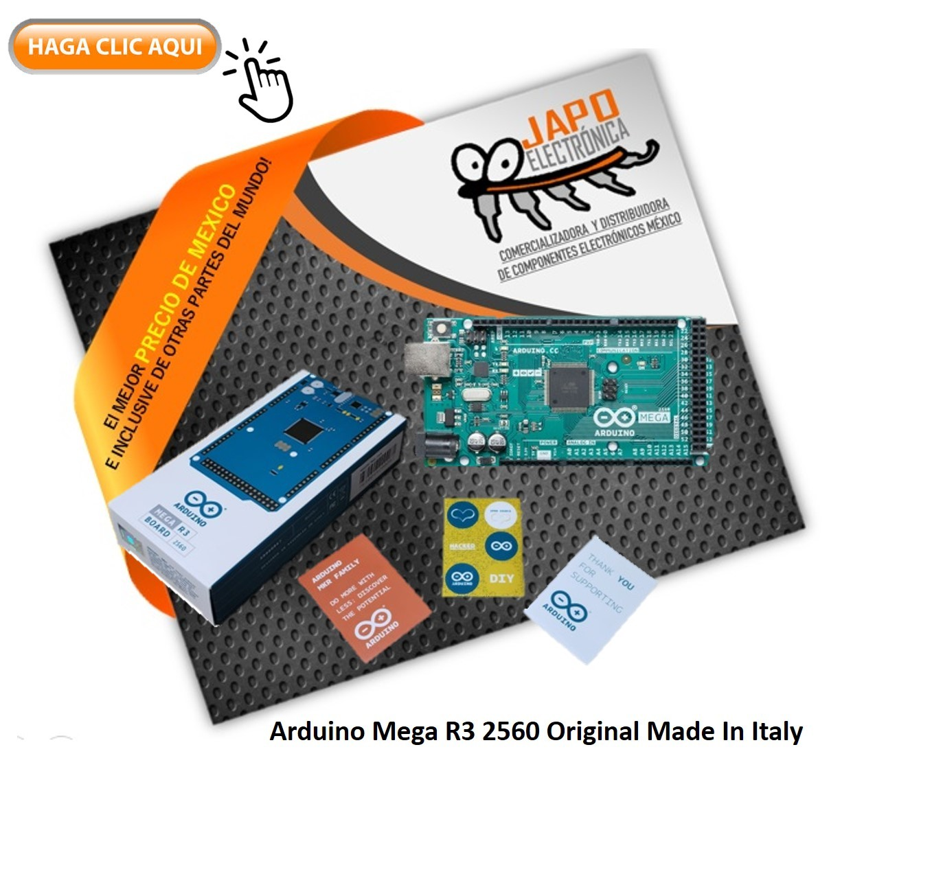 Arduino Mega R3 2560 Original Made In Italy