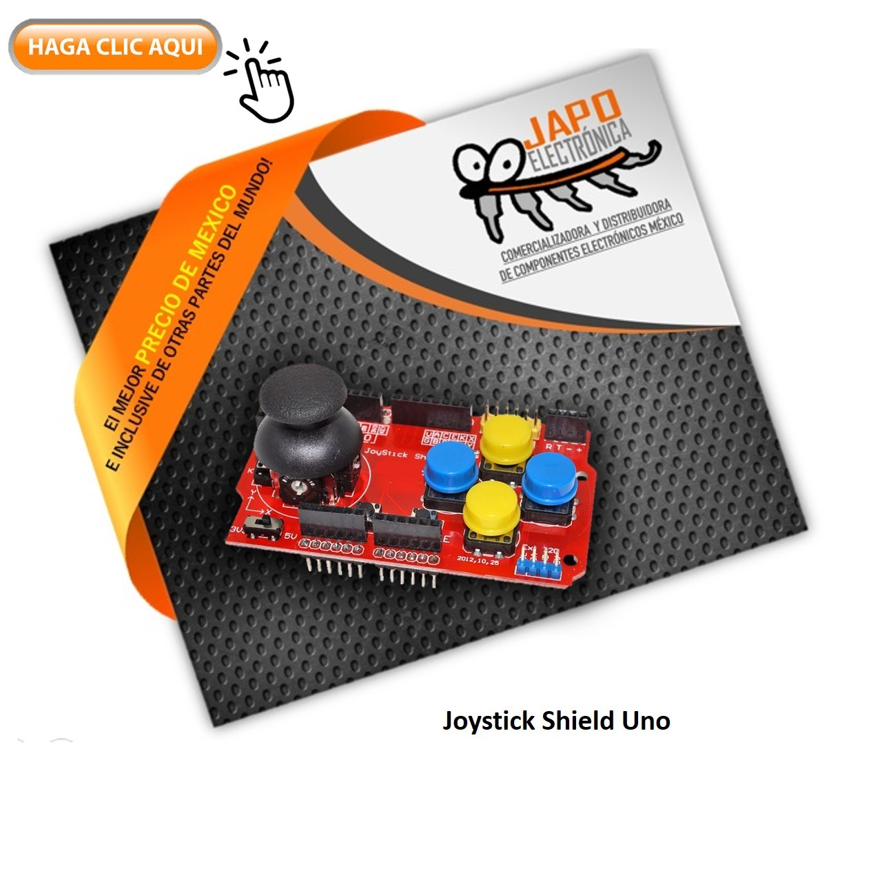 Joystick Shield Uno