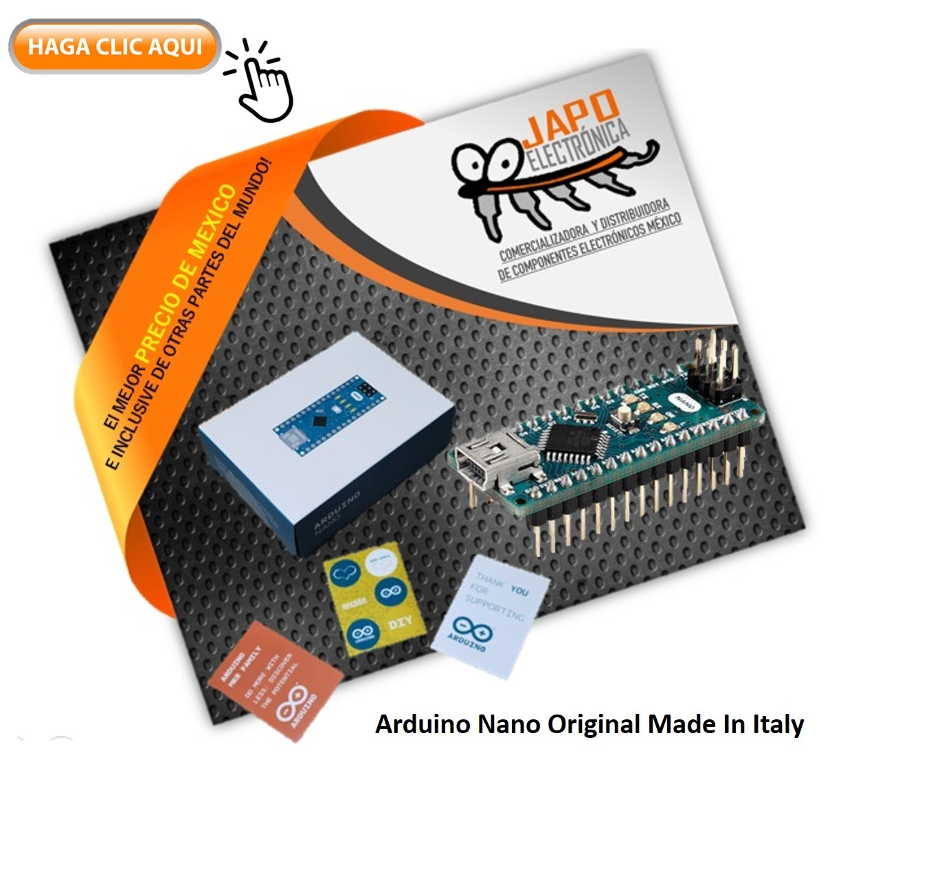 Arduino Nano Original Made In Italy